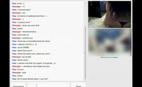 Ellinida se erwtiki synomilia me kafuti skhni sto Skype Elliniko Porno