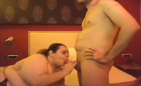 Fat BBW Greek Teacher Peiraias blowjob