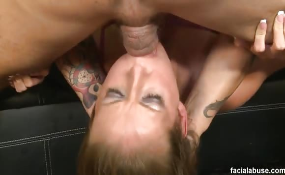 Hailey Young - Facial Abuse